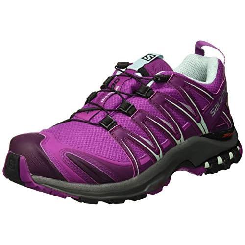 41IkDPxgGfL. SS500  - SALOMON Women's Xa Pro 3D GTX Trail Running Shoes Waterproof