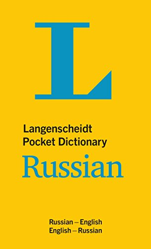 Dictionary Russian: Russisch-Englisch/Englisch-Russisch (Langenscheidt Pocket Dictionaries) ()