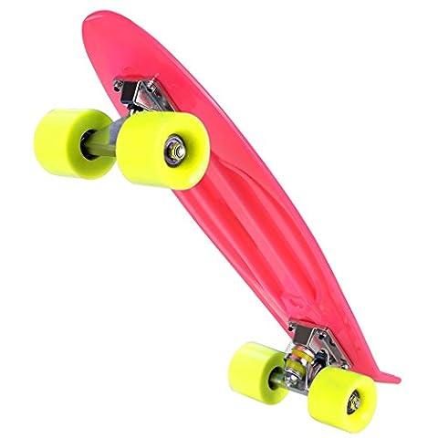 Ancheer-Mini-Cruiser-Skateboard Eine große Vielfalt von Farbe der Platten und Rädern 22 Zoll Kunststoff-Board im