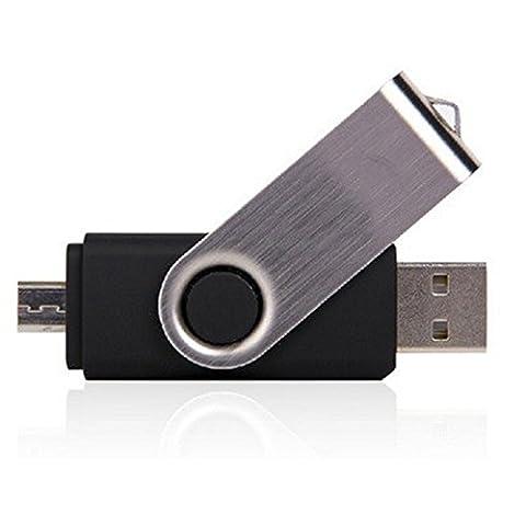 Nouvelle Marque 100% pleine Capacité 2en 1OTG micro USB Smart OTG Pendrive Smartphone les lecteurs Flash USB Pen Drive Memory Stick U disque 4 Go
