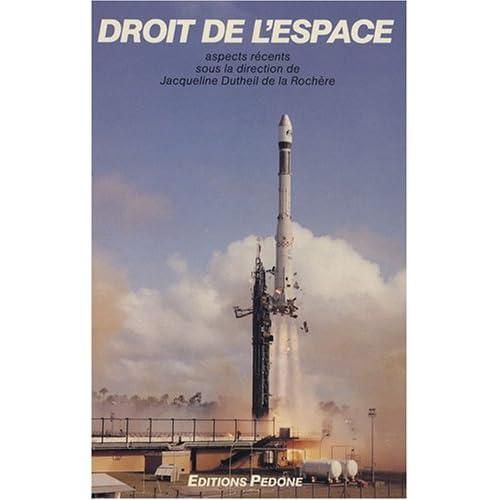 Droit de l'espace : Aspects récents