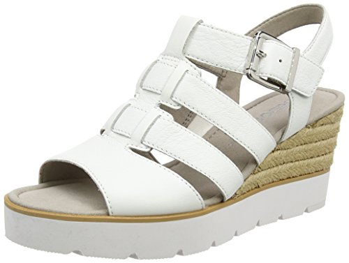 Gabor Shoes Damen Fashion Plateau, Weiß (Weiss 21), 36 EU