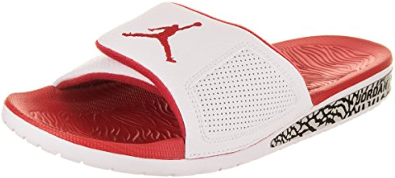 Nike Air Jordan Hydro 3 III Wings  Fire Red , Schuhe Herren, 45 EU