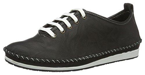Andrea Conti 0027400, Sneakers basses femme Schwarz (Schwarz)