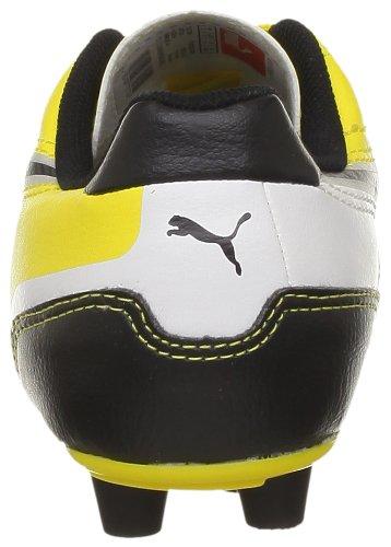 Puma Universal Fg Jr, Baskets mode garçon Jaune (01Yellow/Black/White)