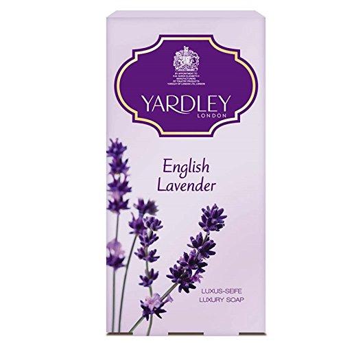 Yardley Lavender Seife 3x100 g Das alt-englische Wissen aus mehr als 200 Jahren in luxuriöser Seife - Lavender Body Care Lotion