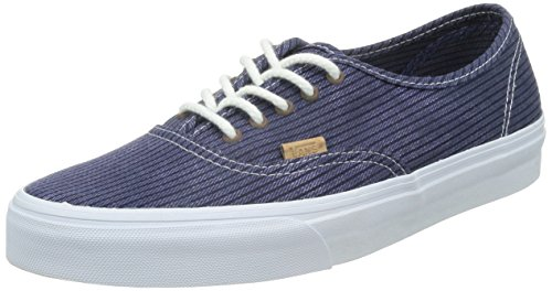 VANS - Herren- Ausgewaschen navyblaue Authentic California Chevrons für herren, Blau, 42 EU (Authentic-california Vans)