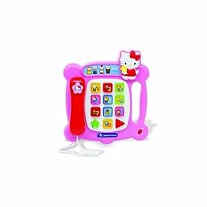 Clementoni-62215-Jeu éducatif Electronique-Téléphone - Hello Kitty