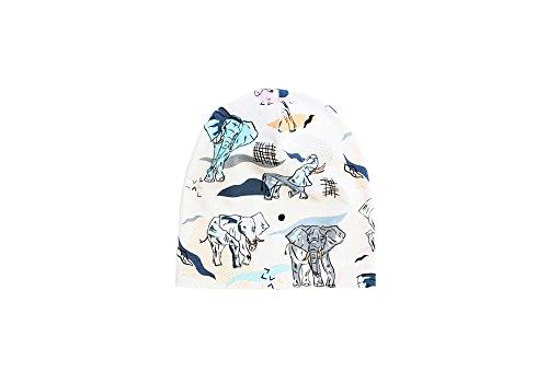 Hebe - Gorro - para niño Beige elefantes