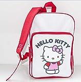 Hello Kitty Rucksack Rot-Weiß (35cm)
