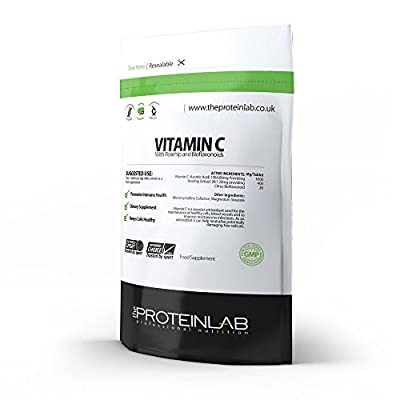 The Protein Lab Vitamin C 1000mg with Rosehip & Bioflavonoids X 100 Tablets over 3 Months Supply Free UK Delivery from The Protein Lab