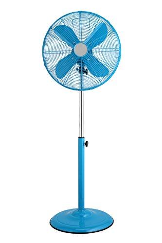 41IkNlg3s8L - Premier Housewares Oscillating Floor Standing Fan with 3 Speeds, Orange