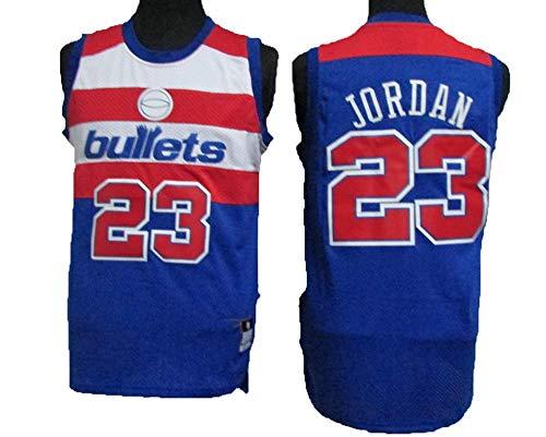 LLZYL NBA Washington Wizards 23# Michael Jordan All-Star-Trikot, Cooles, atmungsaktives Material, Herren- und Unisex-Basketball-Shorts, T-Shirt-Trikot,Green,XXL:190cm/95~110kg