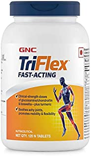 GNC Triflex Fast Acting - Supports Joint Health and Flexibility - 120 tablets