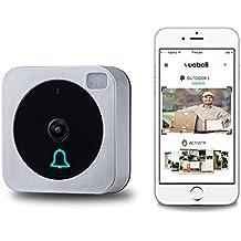 Timbre a Control Remoto Inalámbrico, Con Vídeo y WiFi, Inteligente, Electrónico, Imagen de Vídeo HD 720p (Doorbell001)