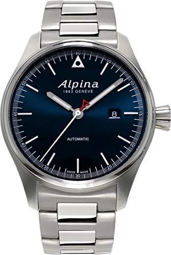 Alpina Geneve STARTIMER PILOT AL-525N4S6B Orologio automatico uomo Rotore Alpina