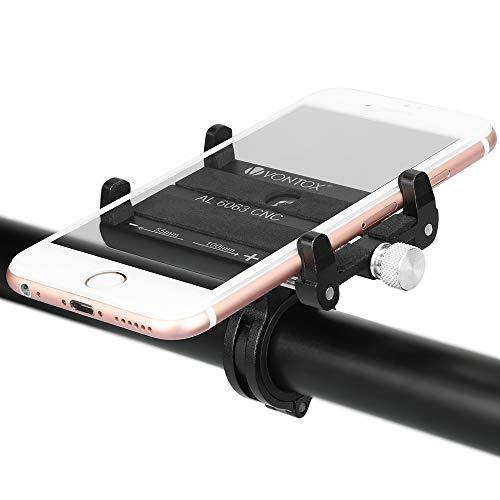 Fahrrad Handyhalterung, Anti-Shake Fahrradhalterung Motorrad Handy-Halter Einstellbar Radsport Verhütung Von Abstürzen Fahrrad-Lenker Handyhalter Für 3,5-6,2 Zoll Smartphone GPS Andere Geräte