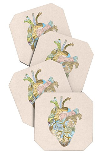 deny-designs-bianca-green-a-travelers-heart-coasters-set-of-4