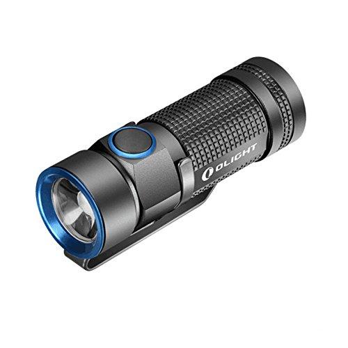 Olight® S1 Mini Baton del Cree XM-L2 LED CW 500 lúmenes - IPX8 - negro (batería CR123A no incluido)