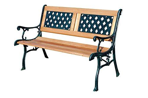 Kingfisher F2PB Gartenbank aus Holz, für 2 Personen