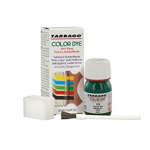 Tarrago Color Dye 25ml, Zapatos y Bolsos Unisex Adulto, Verde (Pineneedle 13),...
