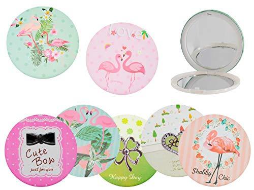 CAPRILO Lote 20 Elegantes Espejos Circulares Decorativos