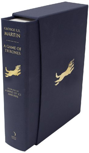 A Game of Thrones (A Song of Ice and Fire, Book 1): Written by George R. R. Martin, 2011 Edition, (Slipcase edition) Publisher: Harper Voyager [Hardcover]