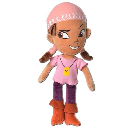 Disney Jake & Ther Neverland Pirates 8 Inch Plush - - Jake Izzy Und Die Neverland