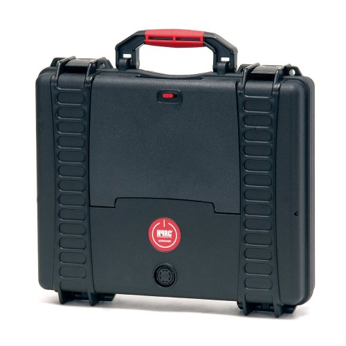 HPRC 2580ADV Hardcase (TX01 Material, 11 Liter Volumen, mit Laptop Kit System) schwarz (11l Notebook)