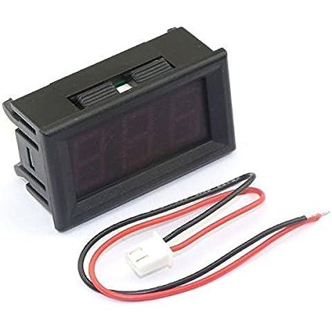 "Solu 0,56""DC 0–10A LED rosso digitale DC amperometro Amper Meter Amp Gauge AMP Panel Meter"