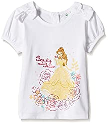 Disney Baby Girls' Blouse Shirt (TC 2407_White_9-12 Months)
