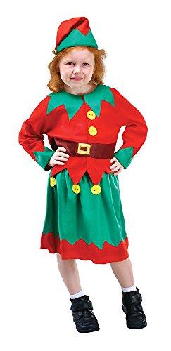 a 's Helper Kostüm, grün (Santa ' S Helper Outfit)