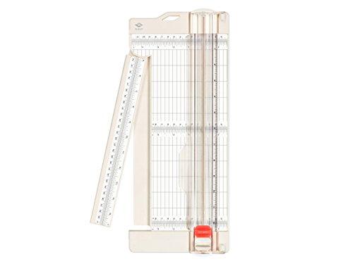 Bira Craft Papier Trimmer und Punktezähler mit-ausschwenkbarer Arm, 11,4x 30,5cm für Gutschein, Craft Papier und Foto (Gutschein La Crafts)