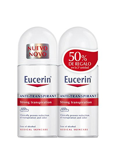 Eucerin - Desodorante Duplo Antitranspirante Roll-On