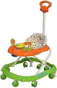 Sunbaby Hot Racer Musical Walker (Orange with Green)