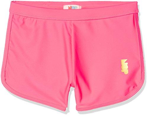 NOP Mädchen Badeshorts G Swimshort uv Mason, Rosa (Fluor Pink C285), 110