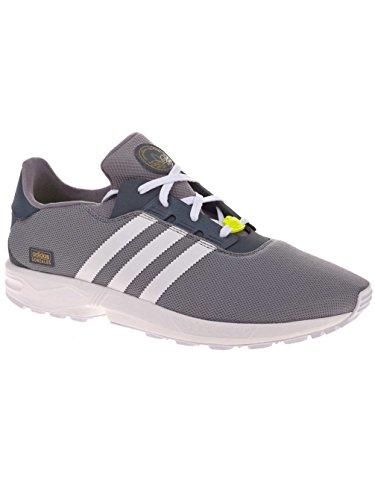adidas Skate ZX Gonz Grey White Yellow Grey