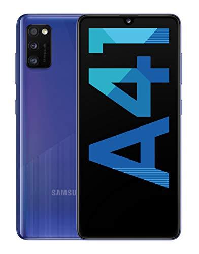 "Oferta de Samsung Galaxy A41 - Smartphone 6.1"" Super AMOLED (4GB RAM, 64GB ROM), Azul [Versión española]"
