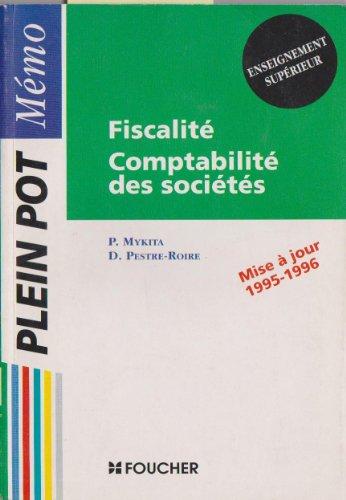 Fiscalite, comptabilite des societes / enseignement superieur, bts comptabilite et gestion, bt103197