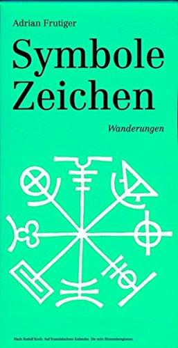 Symbole Zeichen: Wanderungen Buch-Cover
