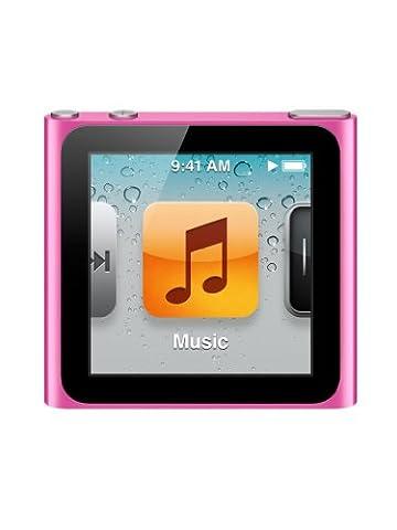 Apple iPod nano 8 Go Rose (6ème génération)