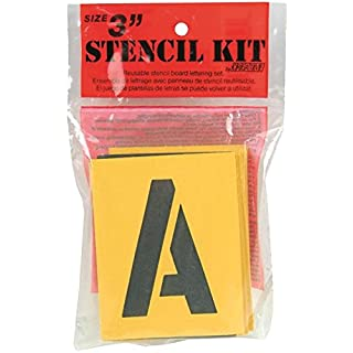 Reusable Stencil Lettering Kit-3