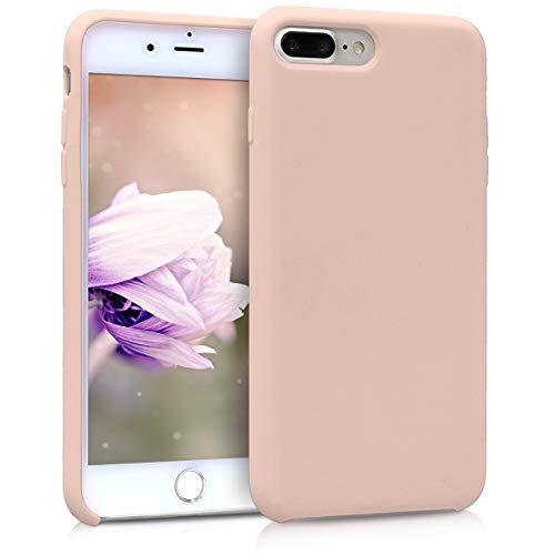 kwmobile Apple iPhone 7 Plus / 8 Plus Hülle - Handyhülle für Apple iPhone 7 Plus / 8 Plus - Handy Case in Altrosa