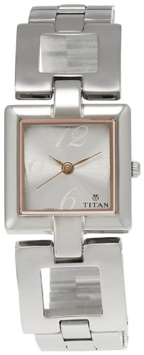 6. Titan Purple Analog Women's Watch
