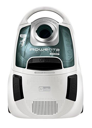 = Rowenta RO2727EA City Space Cyclonic Aspirapolvere Ciclonico a Traino Senza Sacco, Bianco comprare on line