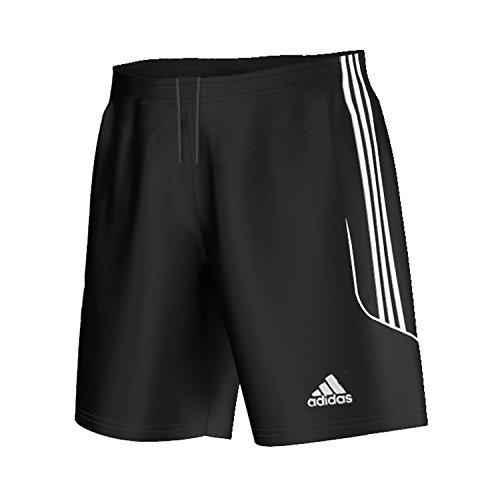 adidas Jungen Fußballshorts Squadra 13 ohne Innenslip, Black/White, 140