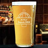 La Geekerie Verre à bière Personnalisable Brasserie