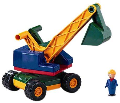 Preisvergleich Produktbild Lena  8251 - Löffelbagger robust mit Figur 32 cm
