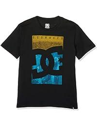 DC Shoes City Sky Camiseta Cuello Redondo para niño, Niños, EDBZT03287, Negro, FR : M (Taille Fabricant : M)
