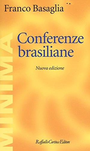 scaricare ebook gratis Conferenze brasiliane PDF Epub